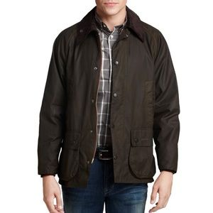 Barbour Classic Bedale Waxed Cotton Jacket NWT